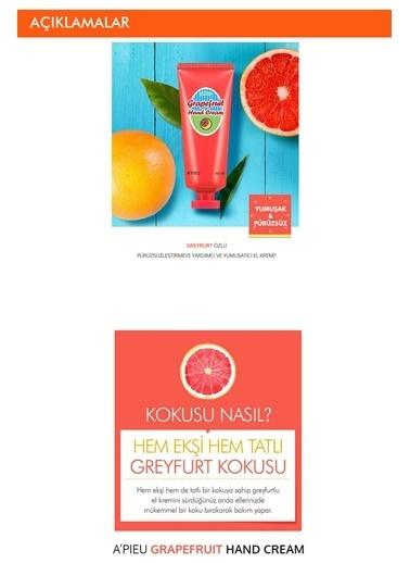 Missha Greyfurt Içerikli Yoğun Nem Veren El Kremi 60Ml Apıeu Grapefruit Hand Cream Renksiz